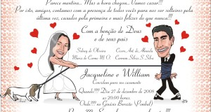 Convite de Casamento modelos, dicas e fotos