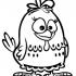 Desenhos da galinha pintadinha para colorir