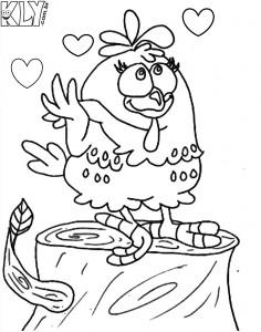 Desenhos-da-galinha-pintadinha-para-colorir-madeira