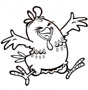 Desenhos-da-galinha-pintadinha-para-colorir-pulando