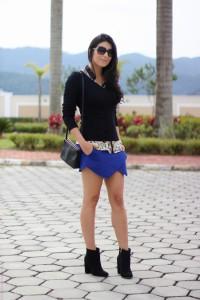 Shorts-saia-assimétrico-como-usar-e-fotos-azul