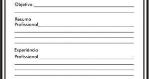 Modelos De Curriculum Completos Para Imprimir