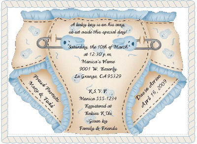 Printable Invitations Baby Shower is beautiful invitation ideas