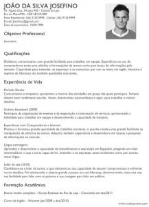 curriculum-simples-primeiro-emprego-word