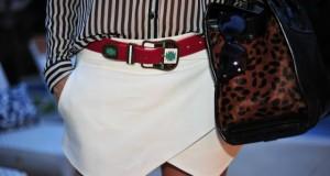 Shorts saia assimétrico como usar e fotos