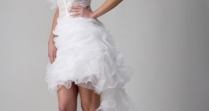 Vestido de noiva curto para mulheres inovadoras